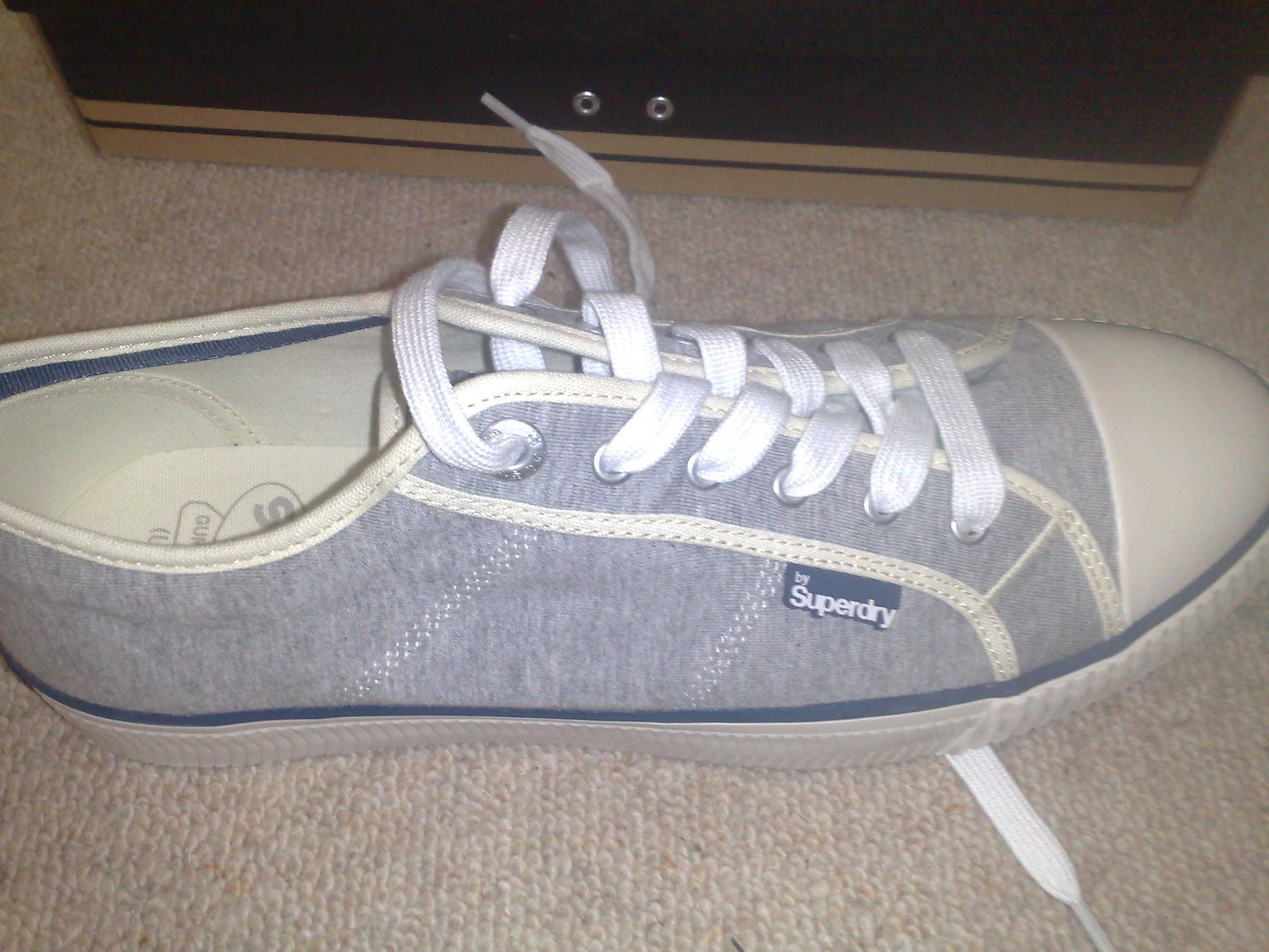 New shoes by 'Super Dry'