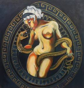 Eurynome and the snake