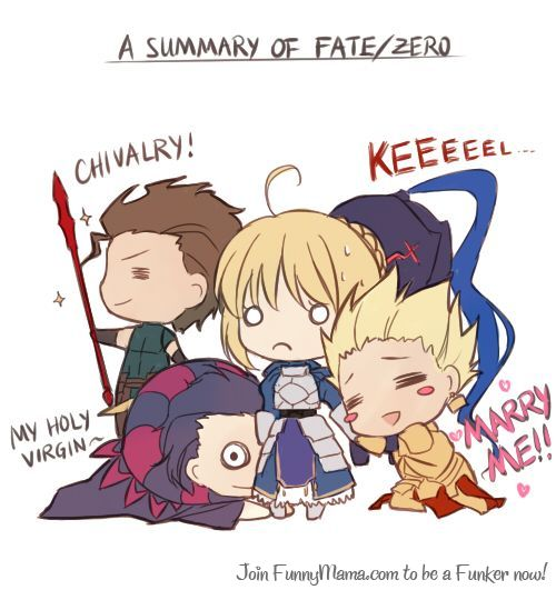 light novel fate zero