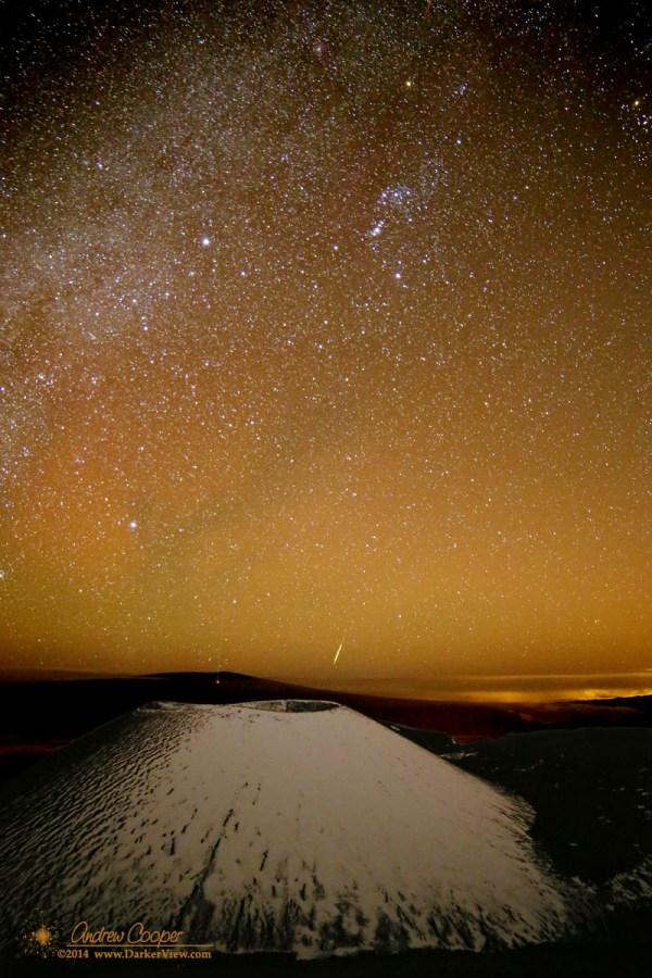 Mauna Loa and Meteor