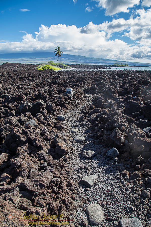 Trail Across the Lava