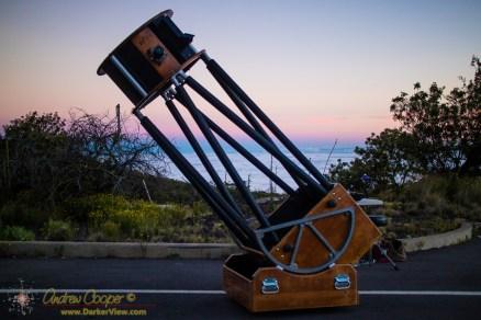 "20"" f/4 Obsession Telescope"