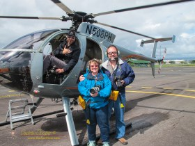 Riding in an MD500 with our pilot Pete of Paradise Helicopters