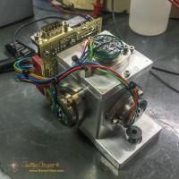 A seismic sensor made from three Honeywell QA-1400 accelerometers