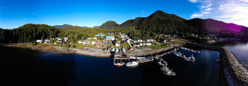 The Gitga'ata community of Hartley Bay, BC