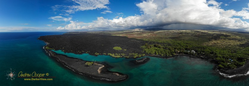 Kiholo Bay by Drone