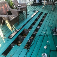 Replacing a few more boards in the lanai
