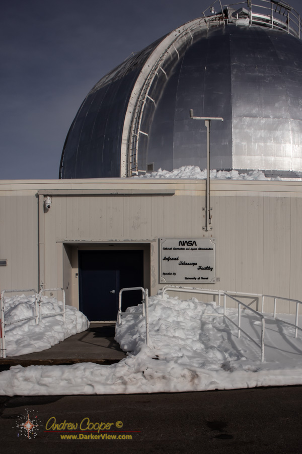 IRTF, the NASA infrared telescope facility
