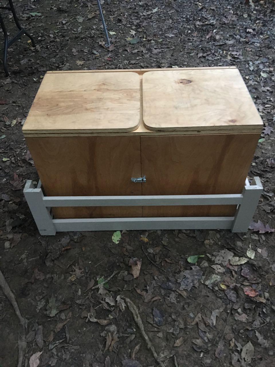 Kitchen Chuck Box : kitchen, chuck, Scout, Chuck, Plans, (Camp, Kitchen), Download, Design