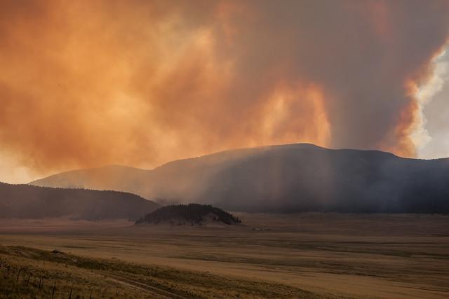 Looking across the Valles Grande, 3/31/13.
