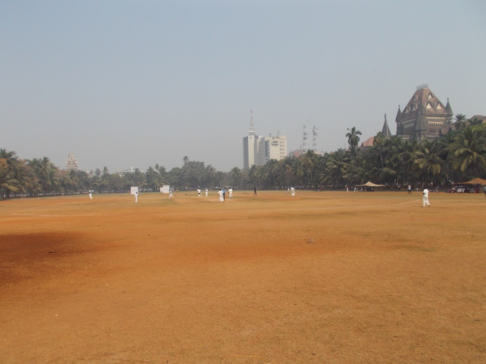 The Oval Maidan. Cricket is played here every day