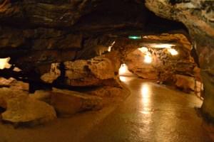 path through the cavern