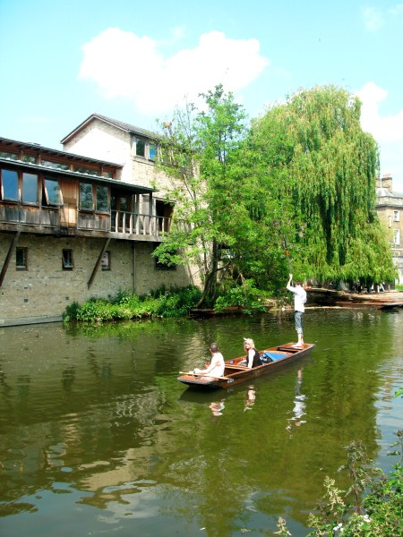 River Cam by Queen's College