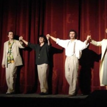 Curtain Call after performance
