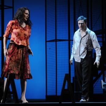 Gelena Gaskarova as Zemfira & Alexander as Aleko