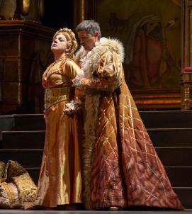 Tamar Iveri as Elisabetta and Alexander