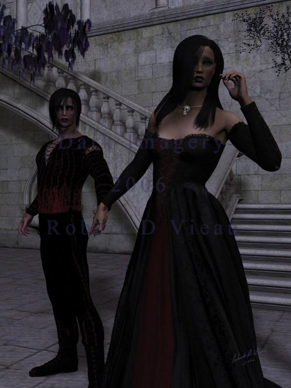 Dark Gothic Vampire Romance