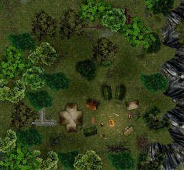 fantasy campsite map forest slaver rpg deviantart bogie dj grid maps tabletop encounter magic xxxxv forums chapter battlemaps camp streets