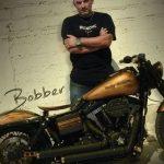 Harley Davidson Dyna Street Bob Bobber By Kustom Kio Dark Kustom Custom Bikes