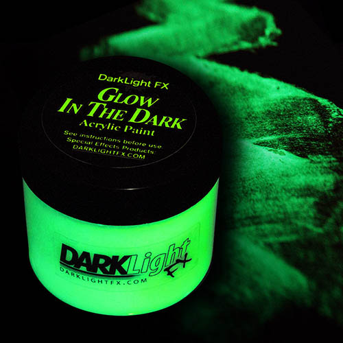 Invisible Glow In The Dark Paint Acrylic Professional Grade