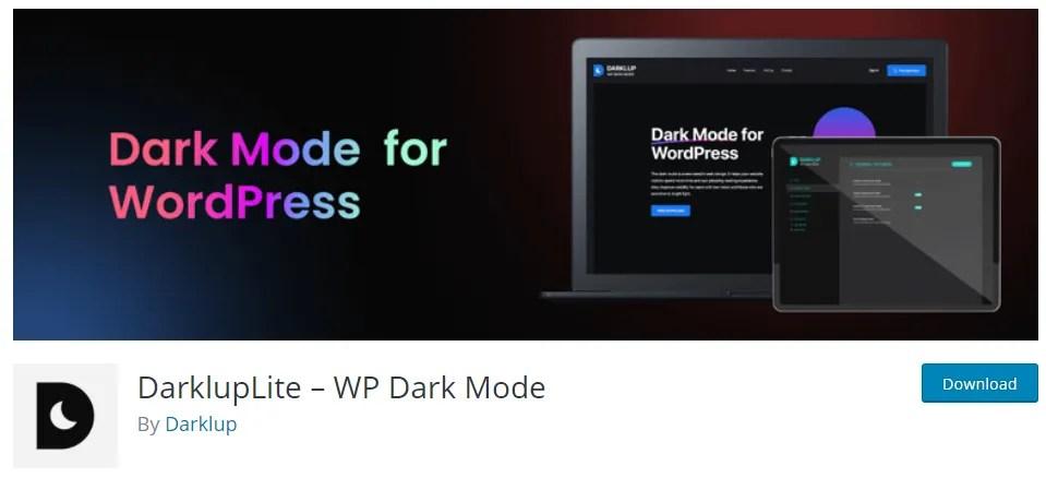 default dark mode