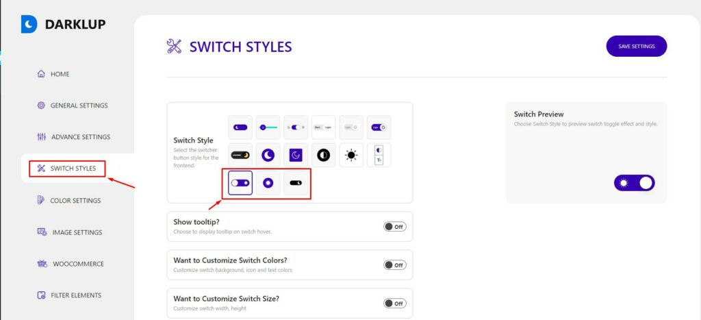 Accessibility Switch