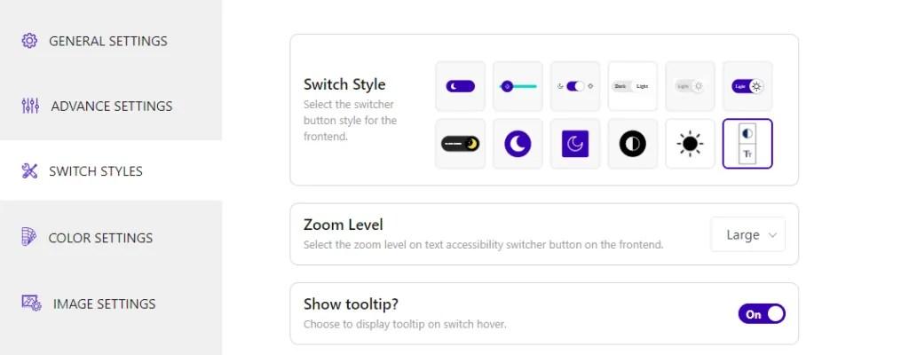 darklup switch