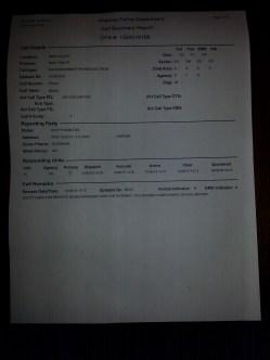 Police Report Evan 2