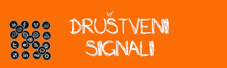 Društveni signali