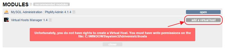 Dodavanje virtualna hosta