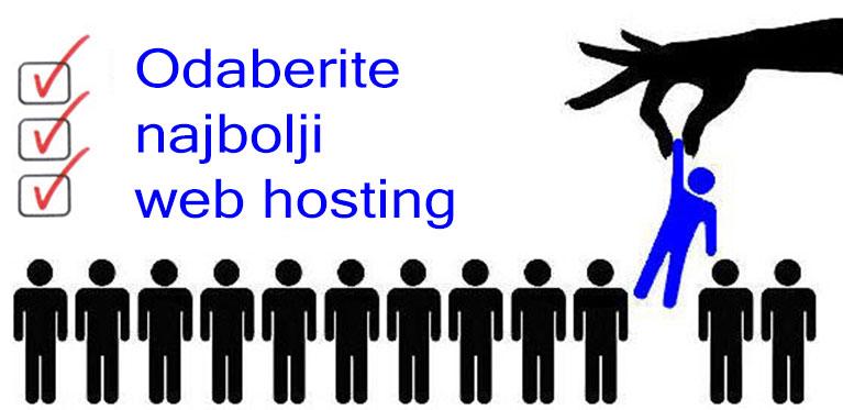 Kako odabrati najbolji hosting
