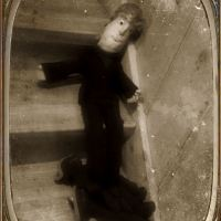 Existential Friday: Daguerre Upon the Stair