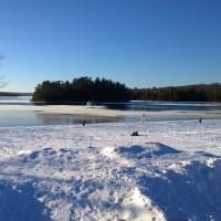 Elliot Lake Beach January 4