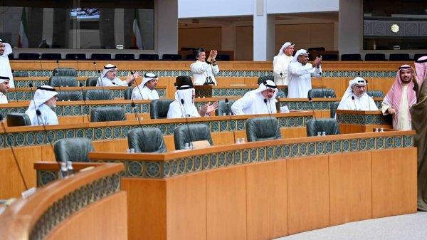 جلسة لمجلس الأمة