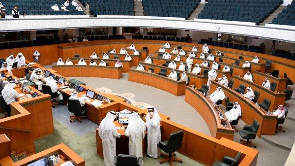 جانب من جلسة لمجلس الأمة الكويتي بتاريخ ٢٧ مايو ٢٠٢١