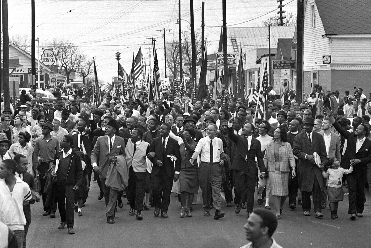 March Luther Martin King Route