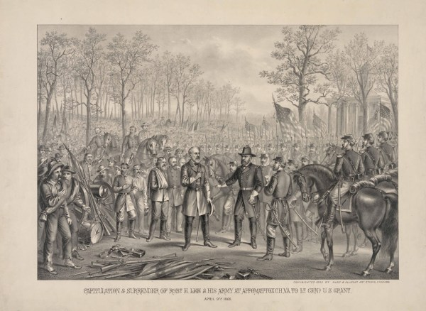 The Surrender of Robert E. Lee Civil War