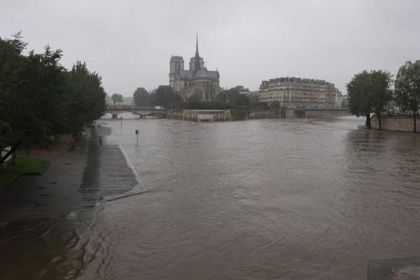Paris Hit Heavy Floods