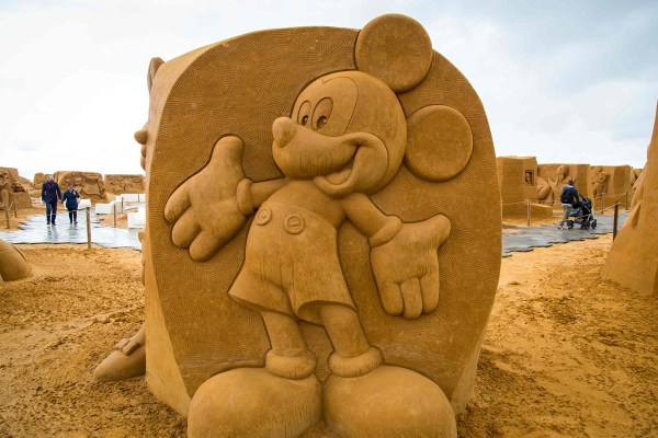 Disney Sand Magic Festival In Belgium