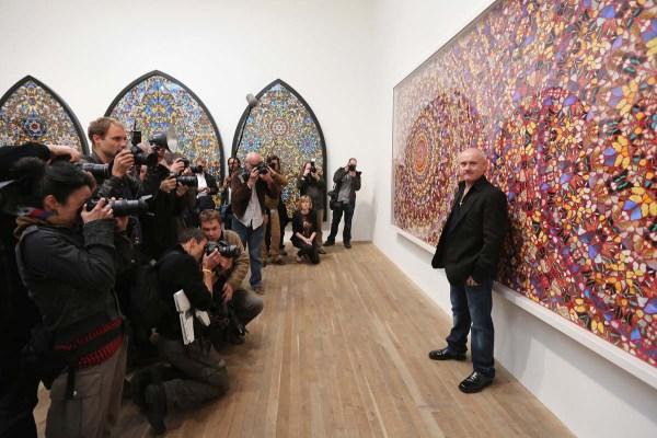 Pop Art Icon Artist Damien Hirst Exhibit Opens Tate Modern