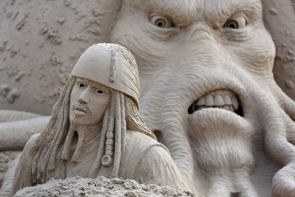 Hollywood Sand Sculpture