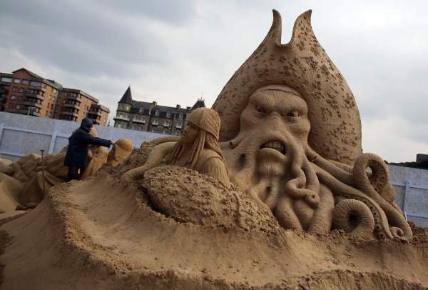 Weston-super-Mare Sand Sculpture