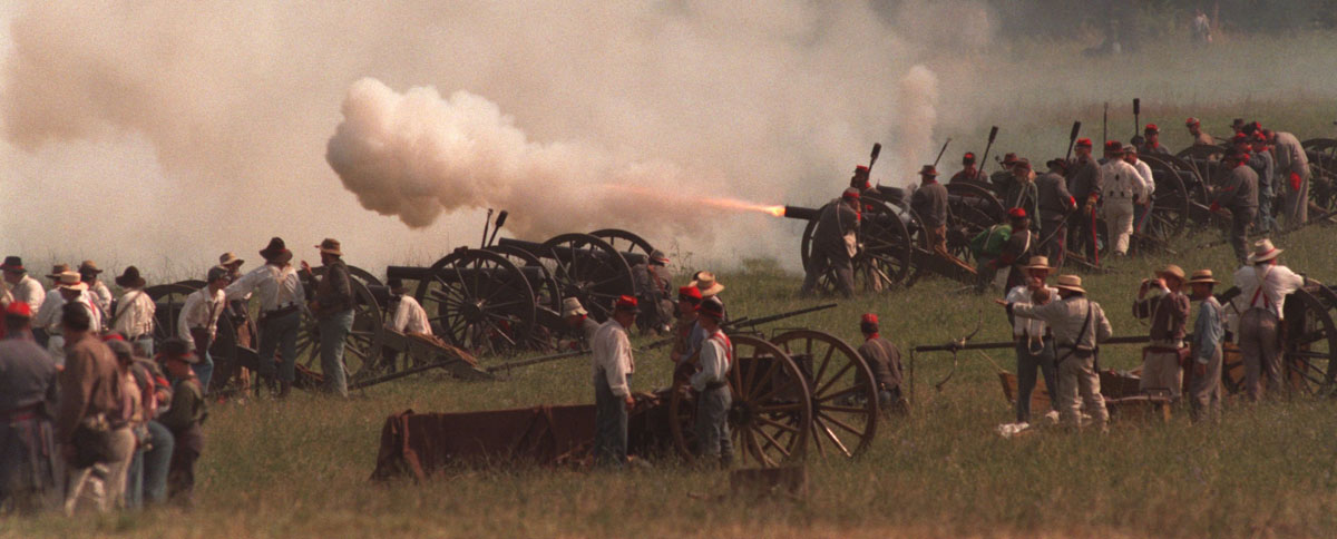 Image result for gettysburg reenactment smoke