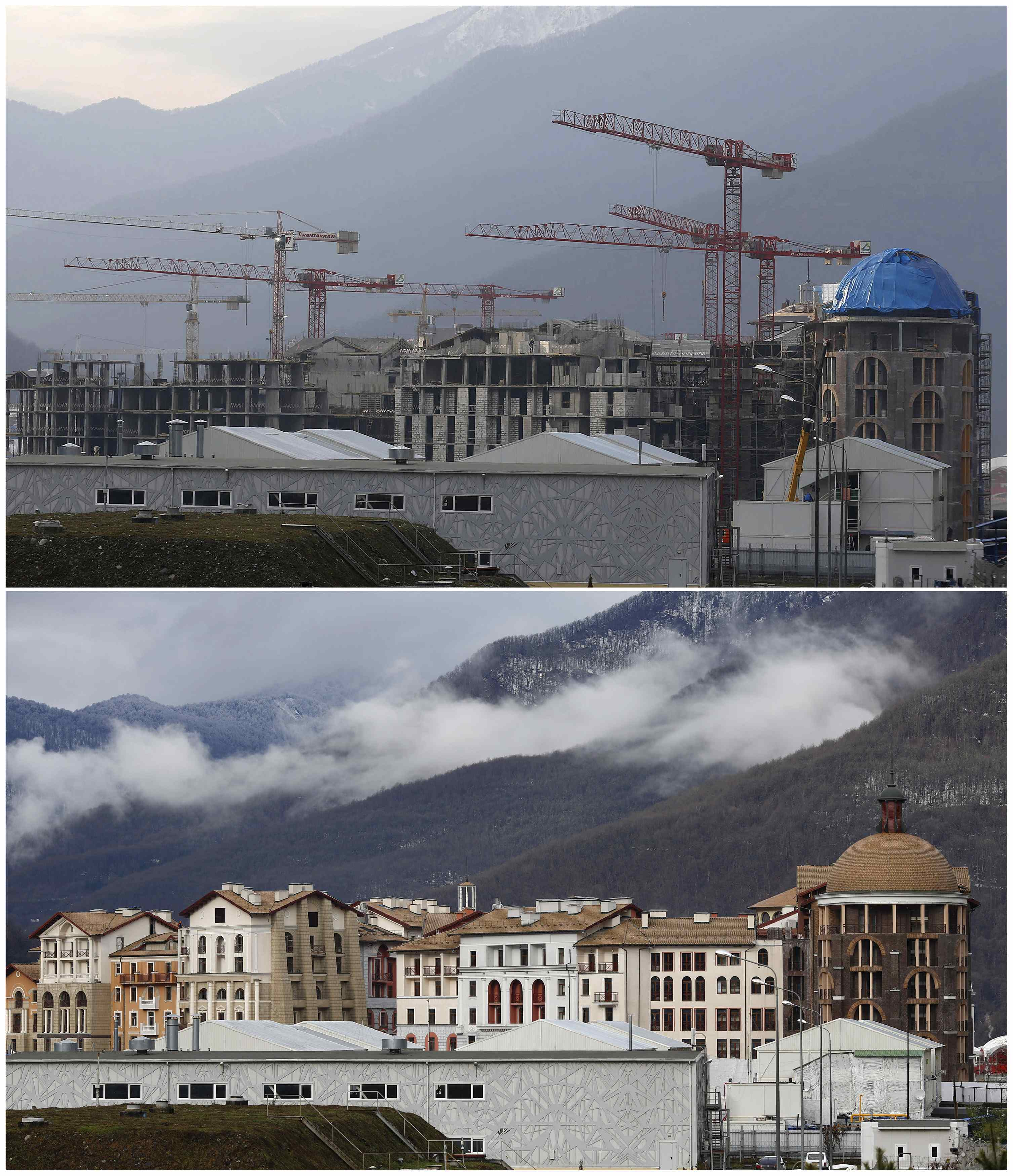 Sochi Then And Now Preparing For The Olympics