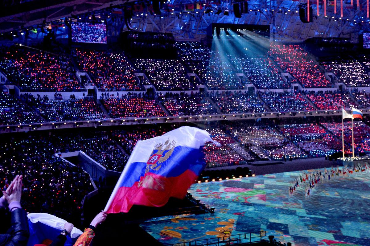 Closing Ceremonies For Sochi Olympics