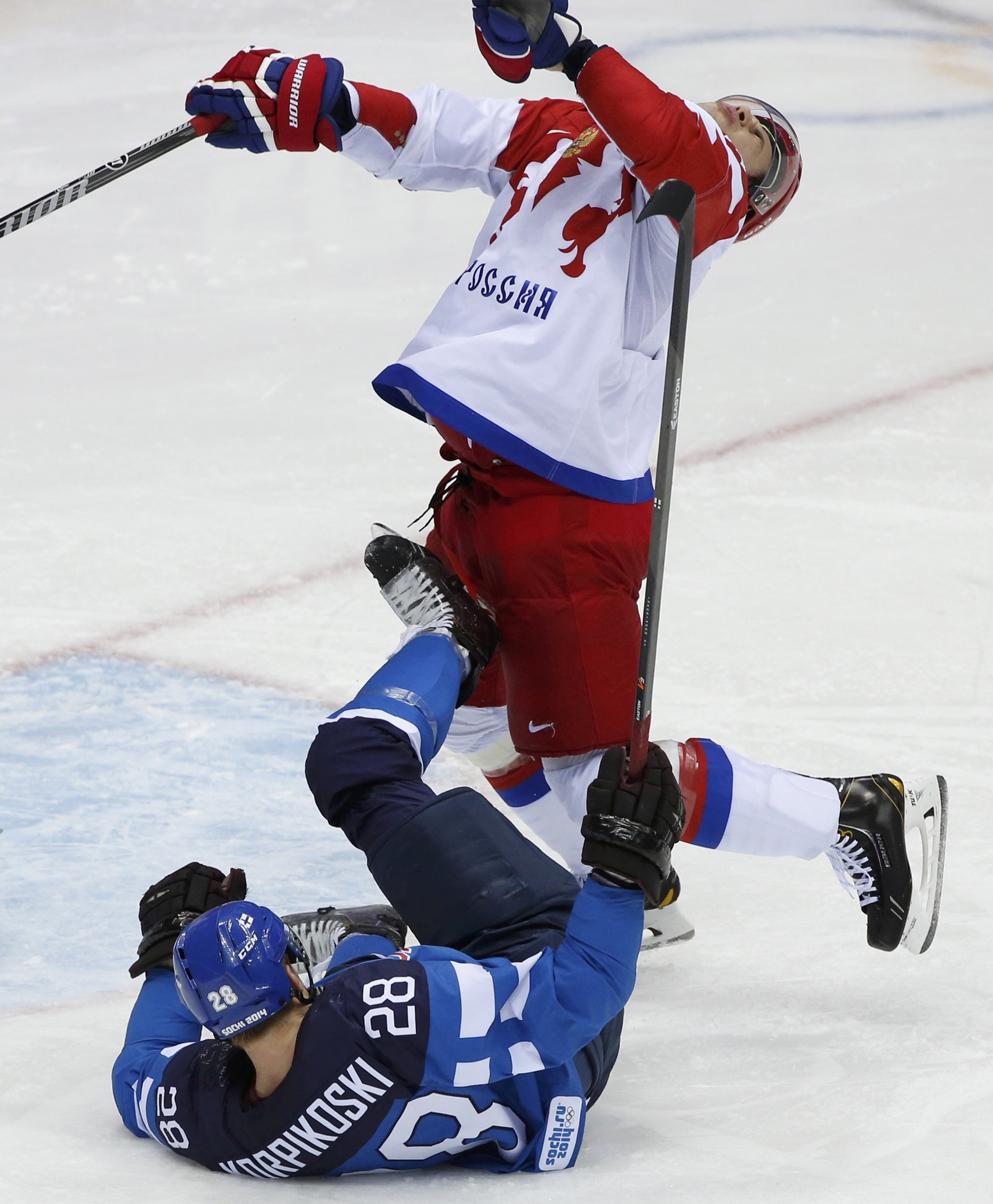 Sochi Olympics Day 14 Injury Ends Games For Bode Miller Us Men S Hockey Beats Czech Republic