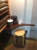 ミニcafeコーナー作りました