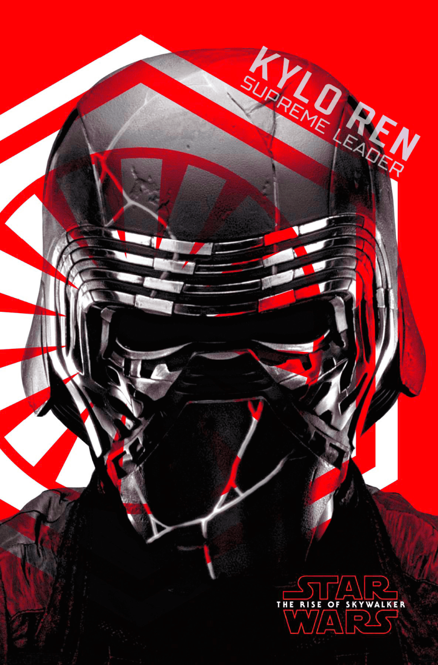 Kylo Ren The Rise of Skywalker Character Poster Edit
