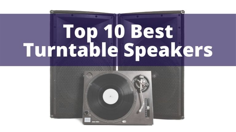 Top 10 best turntables speakers darkside vinyl feature image turntable with speakers