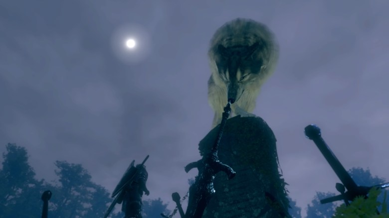 """Image result for Sif, the Great Grey Wolf """"Dark Souls"""